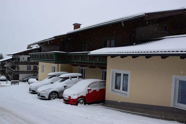 Haus Andre im Winter