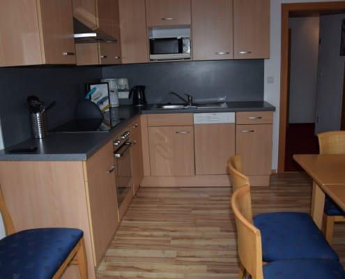 Küche in Ferienwohnung Andre 4 Wagrain