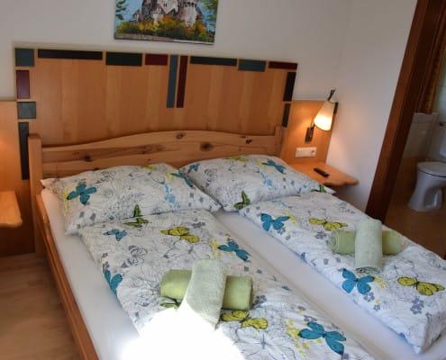 Schlafzimmer im Appartement Oliver 4