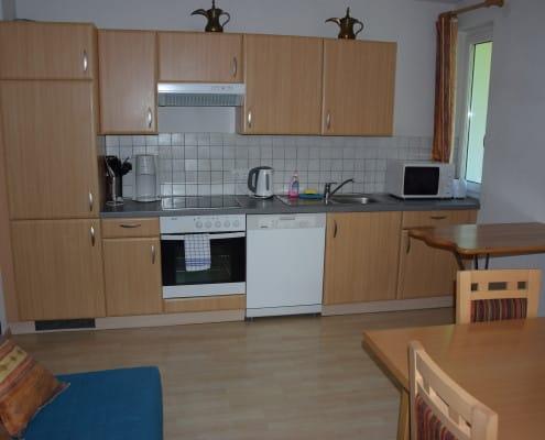 Küche in Appartement Oliver 4 Wagrain